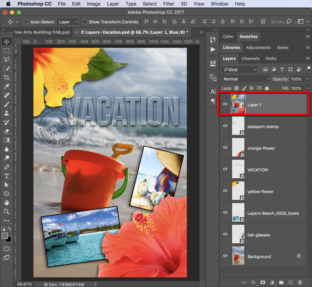 how to make a layer bigger in photoshop cc 2017